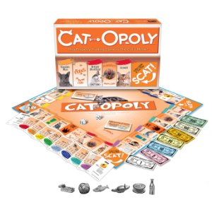 A Fun Monopoly Board Game In A Cat Theme