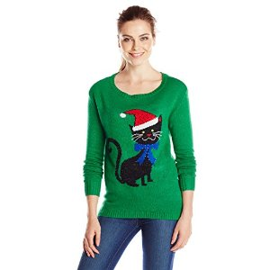 Kitten Ugly Christmas Sweater