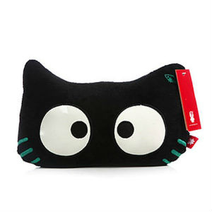 Glow In The Dark Cat Neck Support Pillow