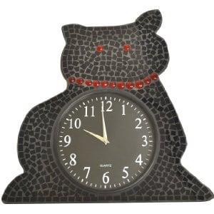 Cat Shaped Wall Clock