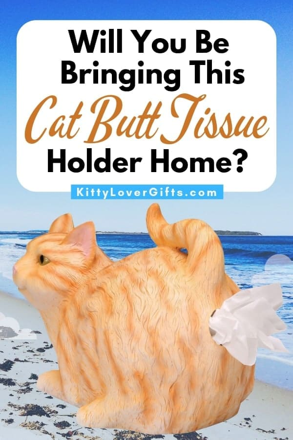 Cat Butt Tissue Holder, Cat Butt Tissue Dispenser