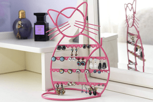 Cat Earring Holders