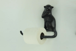 Cat Shaped Toilet Paper Holder
