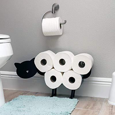 Cat Shaped Toilet Paper Holder